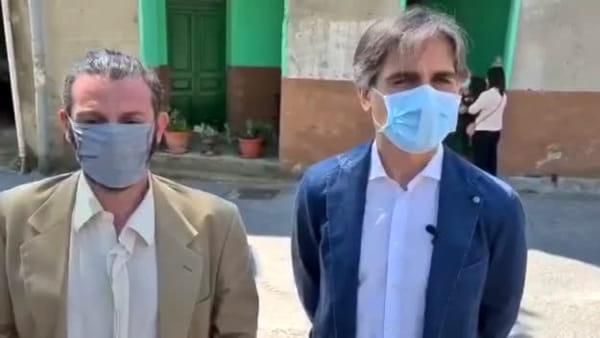 """La cultura vince sempre"", la solidarietà del sindaco a Sorgonà e la visita al Museo della Seta |VIDEO"
