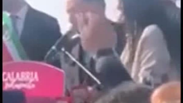 """Regionali: """"La Santelli non me l'ha mai data"""", la battuta di Berlusconi a Tropea"""