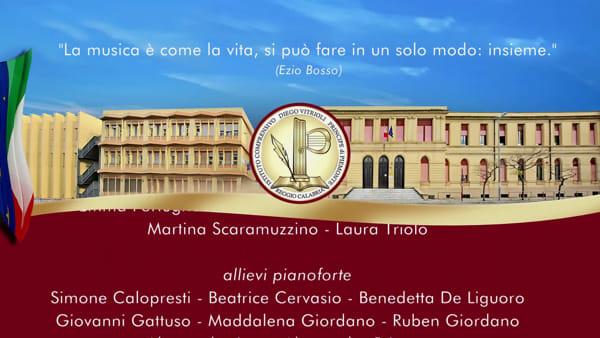 Concerto virtuale, bravura e passione dei musicisti dell'istituto Vitrioli - Principe di Piemonte| VIDEO