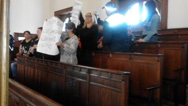 protesta osservatorio disagio abitativo consiglio comunale2-2