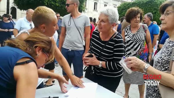 Piazza Italia, Reggio insieme all'Hospice dice no alla chiusura della struttura