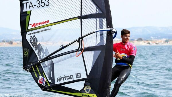 Windsurf, Francesco Scagliola conquista la One Hour Classic Slalom Under 20